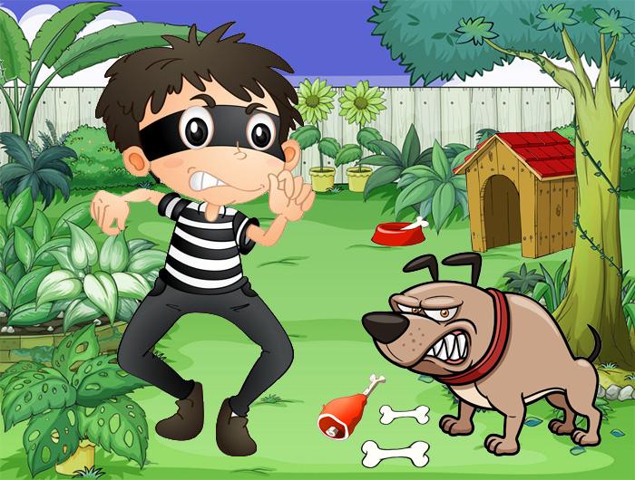 หัวขโมยกับสุนัขเฝ้าบ้าน
